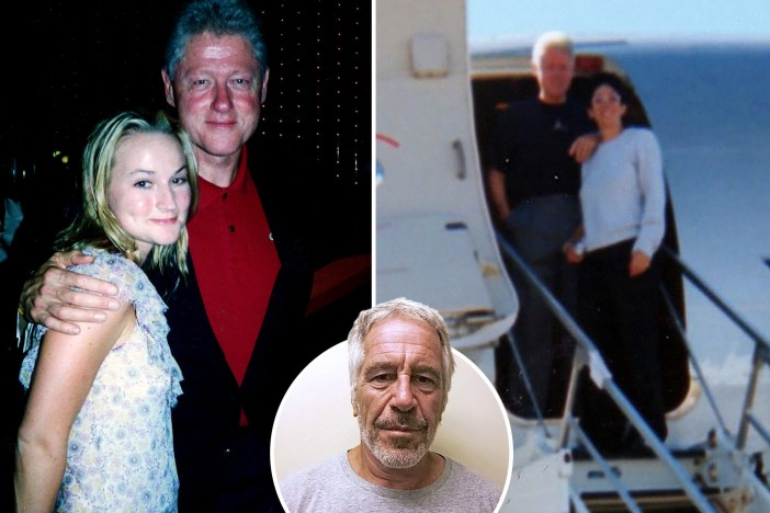 Etleboro.org - Bill Clinton poses with Epstein's 'pimp' Ghislaine ...