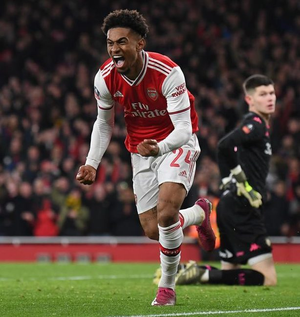 Mikel Arteta admits he was expecting more from hot talent Reiss Nelson