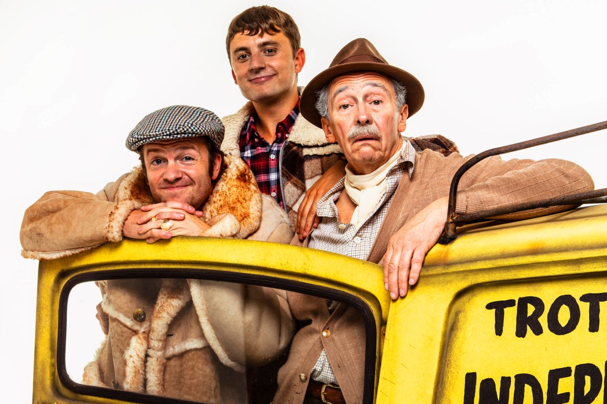 Only Fools and Horses The Musical cast want to take it to Broadway
