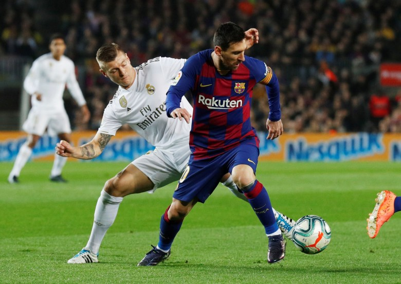 Barcelona and Real Madrid are in a fierce battle for the LaLiga crown
