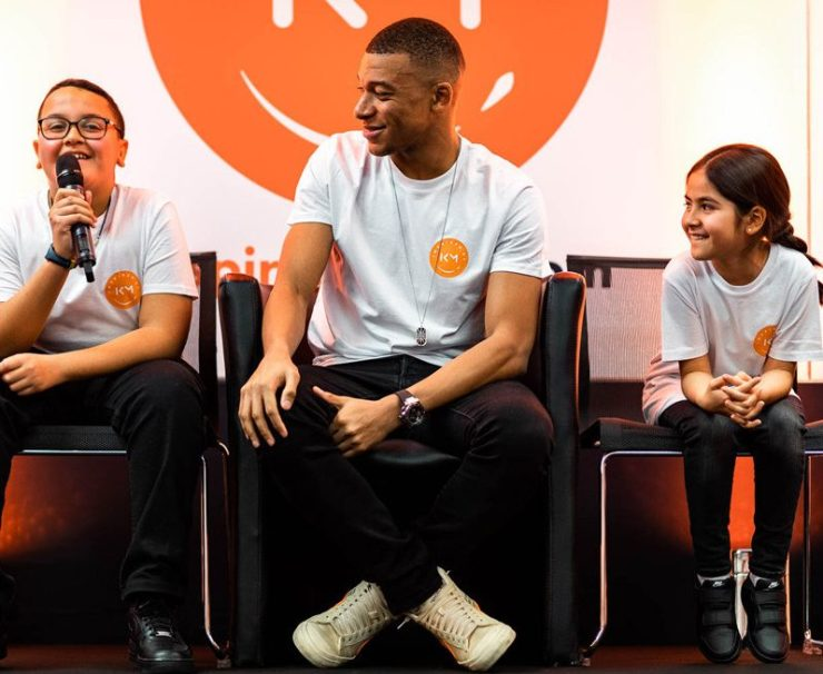 Mbappe has launched his own charity called Inspired By KM
