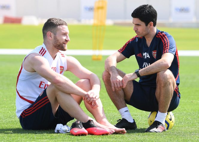 Shkodran Mustafi says he is is surprised to learn so much so quickly under Mikel Arterta