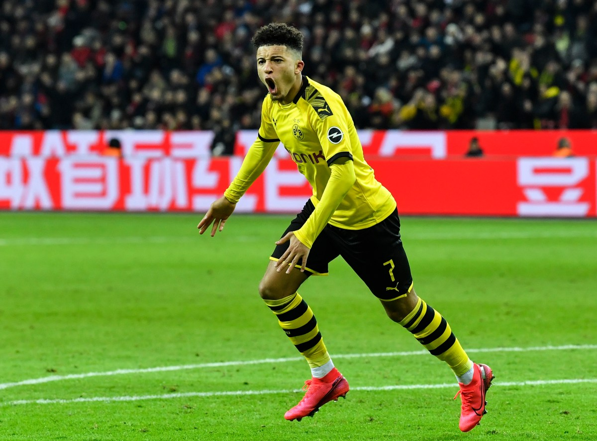 Sancho became the first player to reach double figures in goals and assists in Europe's top five leagues this season