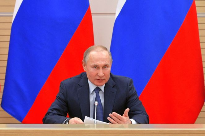 Vladimir Putin has said that gay marriage will not be legalised in the country as long as he is in charge