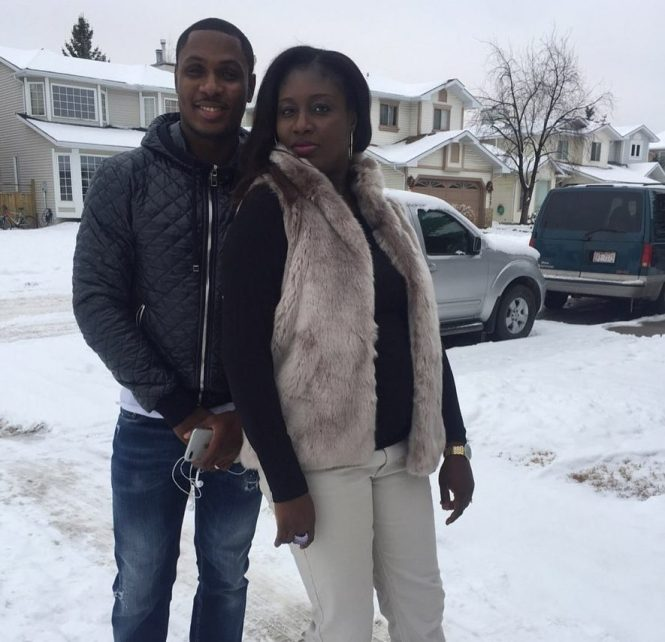 Man Utd new boy Odion Ighalo treasures the memory of his sister, Mary, who was only 43 when she died in December