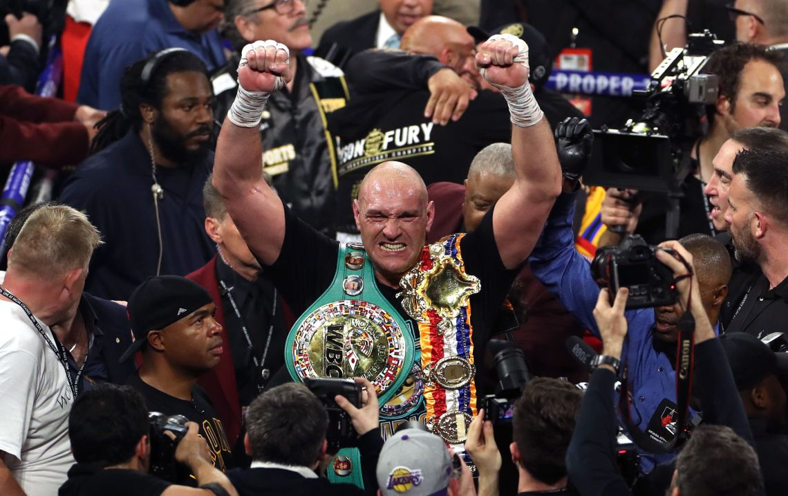 Boxing has crowned Tyson Fury as a world champion yet again