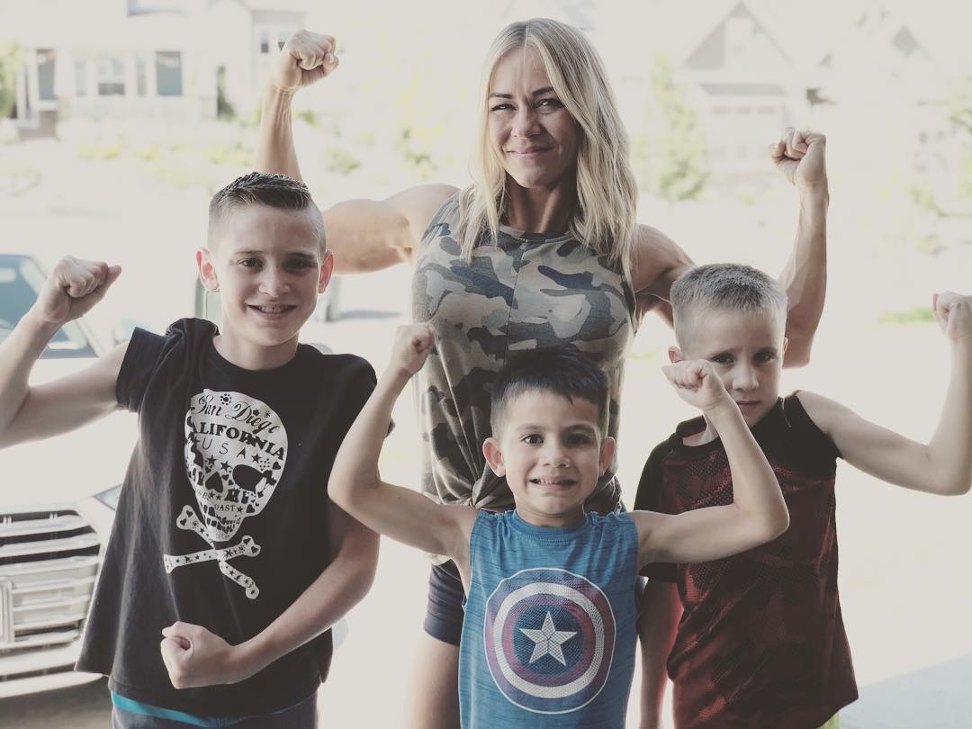 Tara est mère de quatre enfants