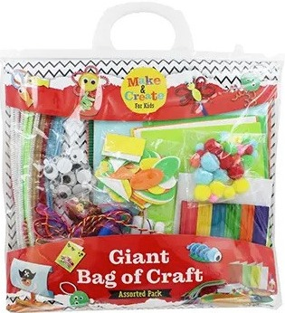 If you can't get to the shops you can pick up this craft bag online