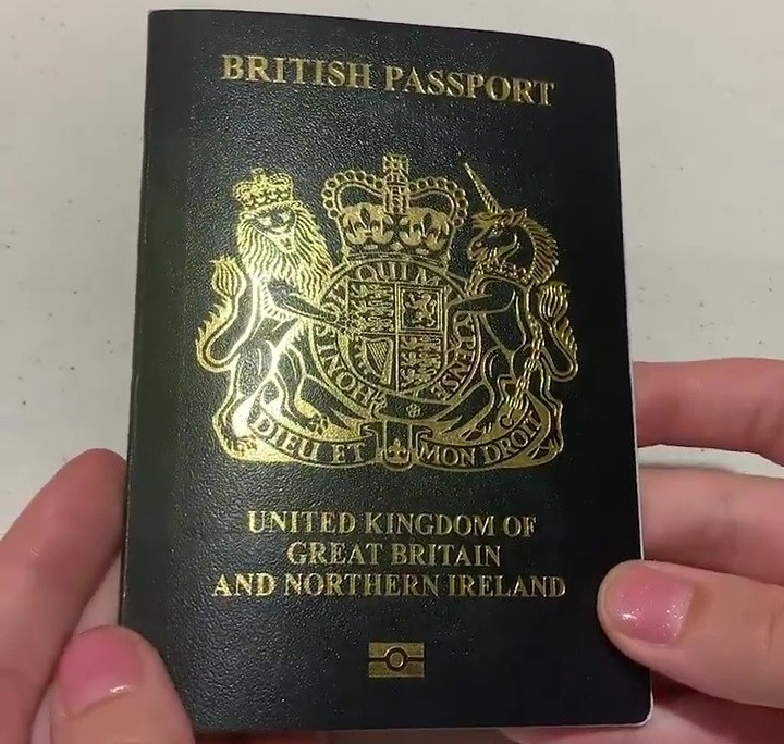 New Blue British Passport Sparks Debate As It Has A Photo