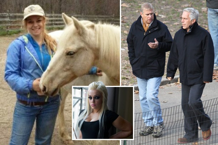 Prince Andrew 'was at Jeffrey Epstein's mansion at same time victim was raped by the billionaire, age 17' lawsuit claims