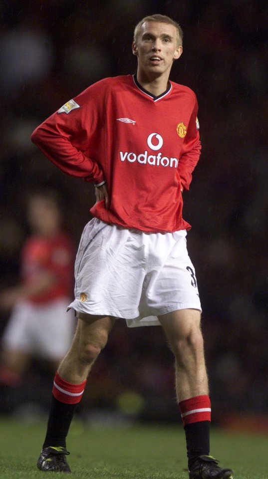 Luke Chadwick never quite filled David Beckham's boots at Old Trafford
