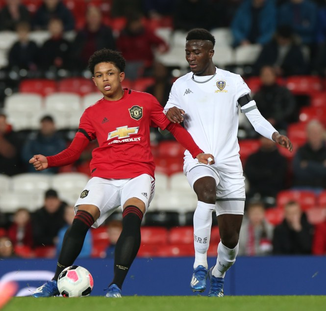 Last year Shoretire made history as the youngest ever UEFA Youth League player