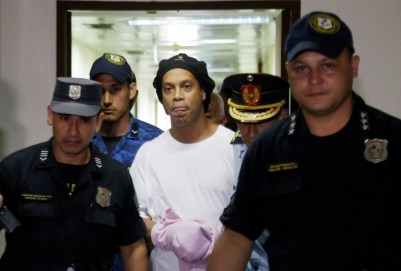 Lionel Messi denies he will pay £3.25m to help Ronaldinho get out ...