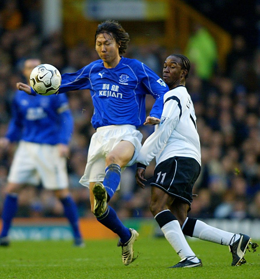 Li Tie played against Tottenham but that was one of just five outings, including this one against Bolton