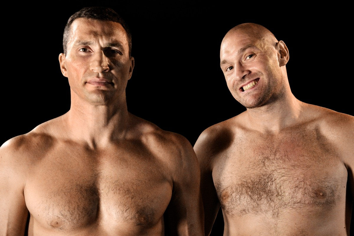 Klitschko brands Tyson Fury 'creepy' for telling story about pair in sauna before their world title clash in 2015