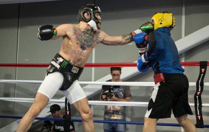 McGregor used Malignaggi as a training partner before fighting Floyd Mayweather