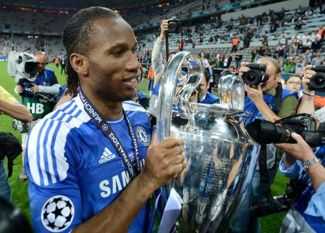 The legendary striker won 12 major honours during his time with Chelsea