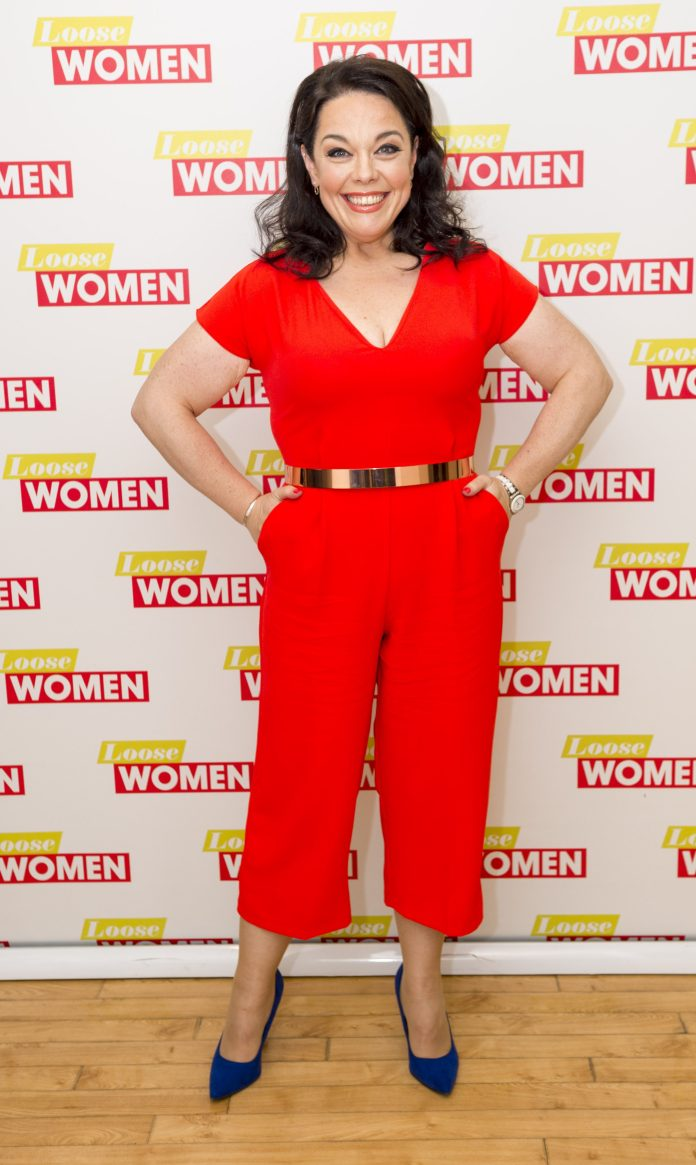 The 43-year-old woman, photographed in 2017, said that people always forget how `` gigantic '' she was