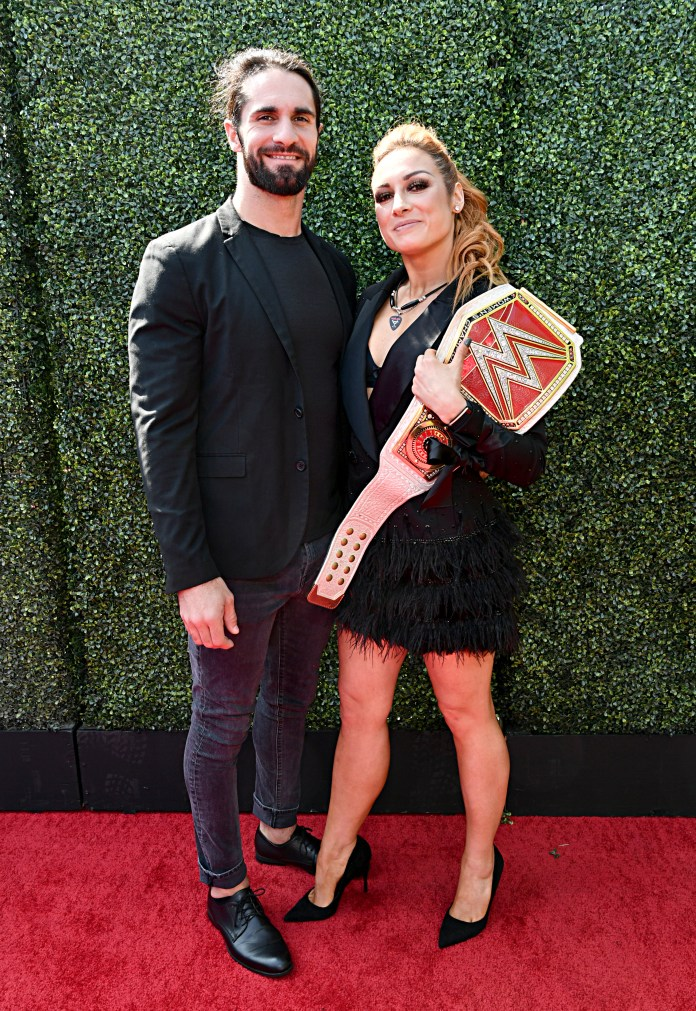 Seth Rollins' relationship with RAW female champion Becky Lynch has also been turned into an on-screen romance