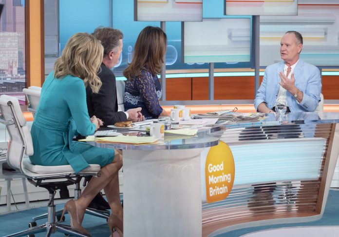 Paul appeared on Good Morning Britain earlier this year to talk about his ongoing battle against alcoholism