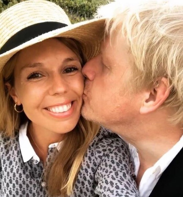 Carrie and Boris announced their pregnancy in February