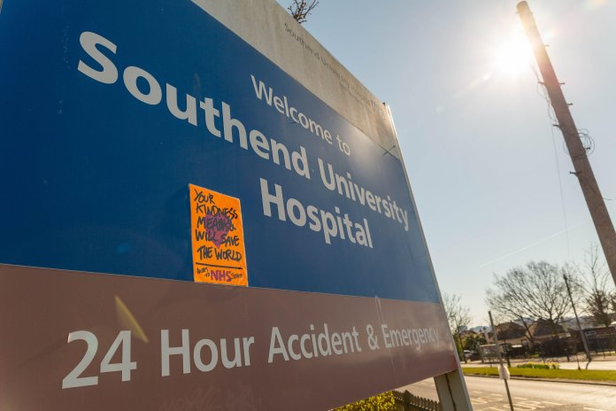 Nearly 30 A&E nurses at Essex Southend Hospital reportedly ill