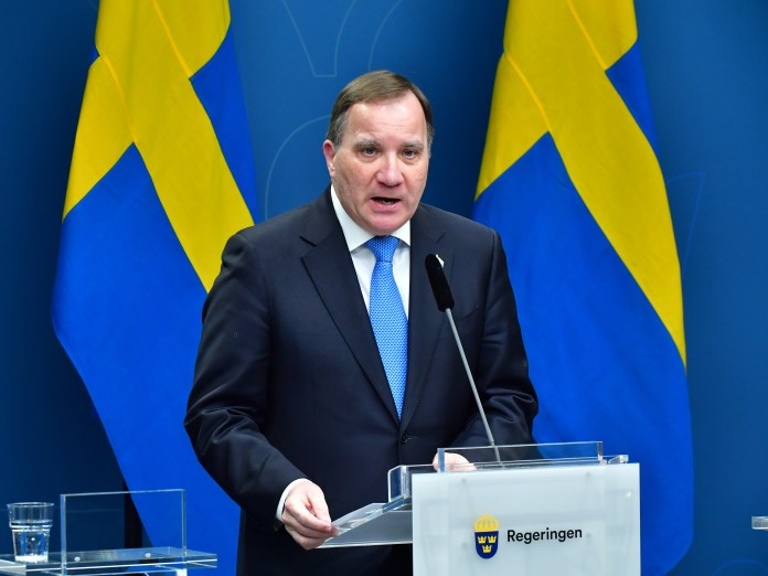 Prime Minister Stefan Lofven said thousands of people would die from coronavirus