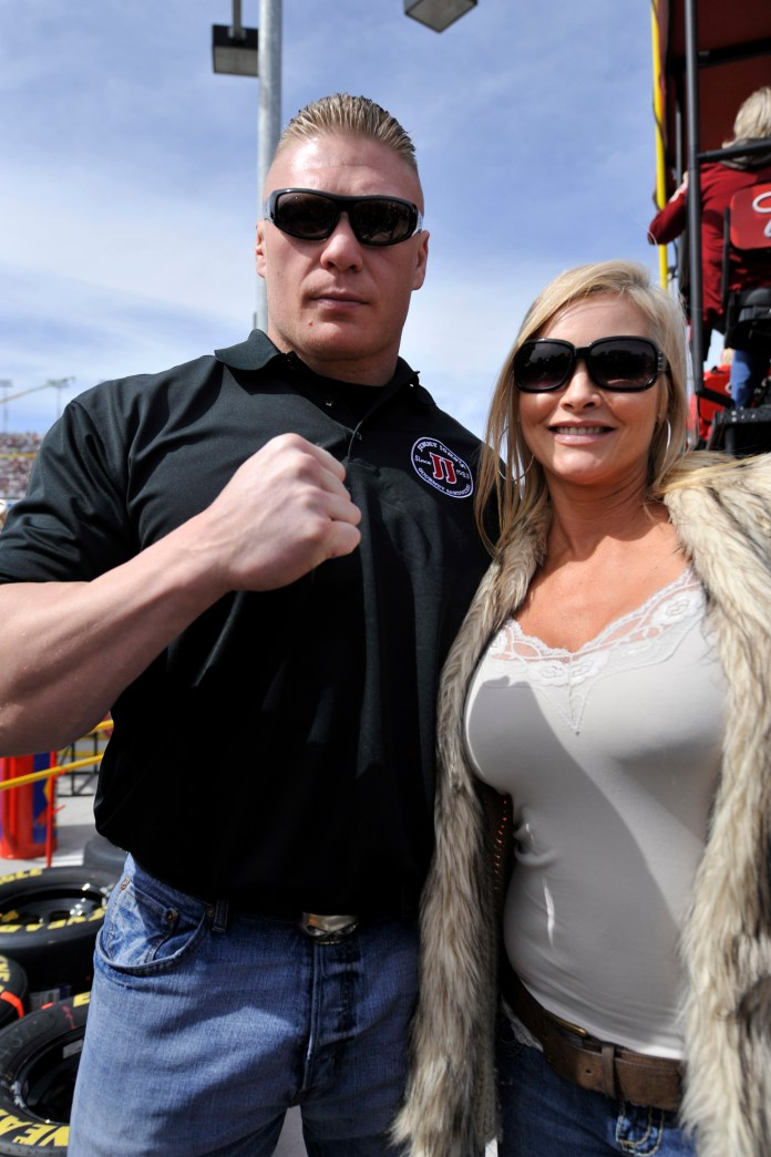 WWE Universal Champion Brock Lesnar Has Two Sons With Sand