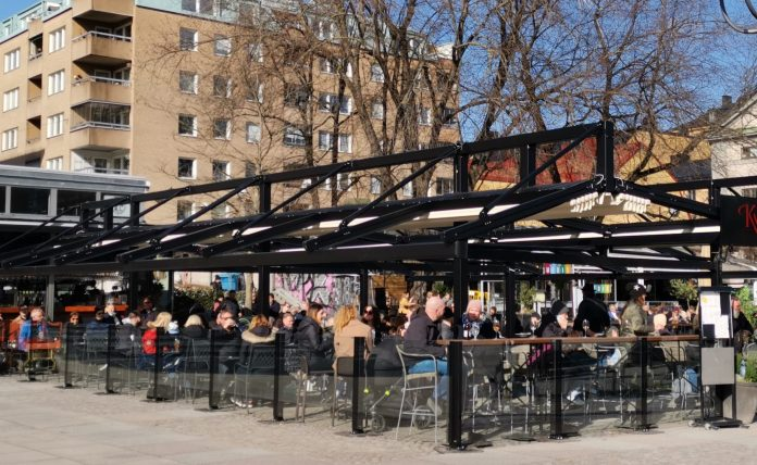 Bars and restaurants are now limited to table service but can still open