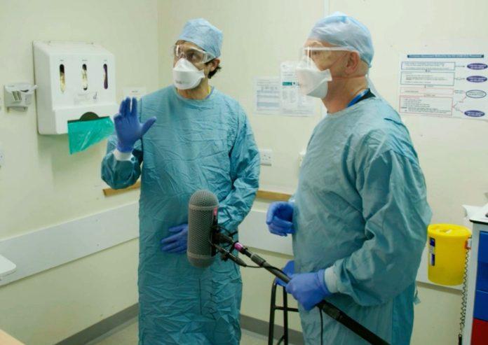 Ross spoke to Dr. Hamid Manji who said the hospital `` feels like a war zone ''