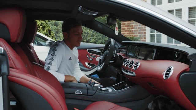 Ozil is a fan of German engineering when it comes to his motors