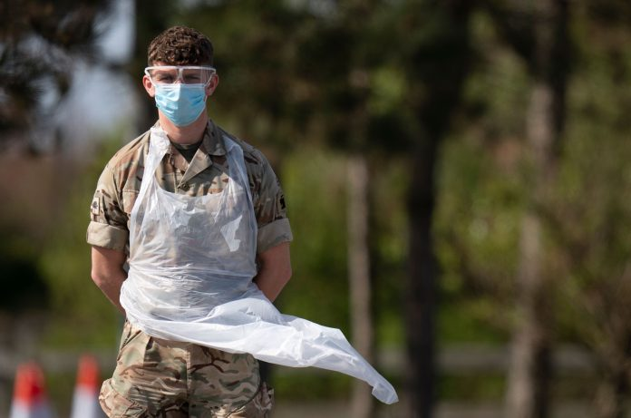 Troops May Receive Insect Repellant To Protect Against Coronavirus