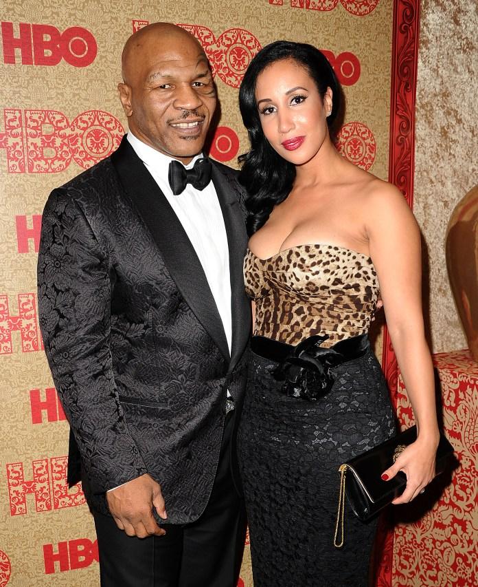 Tyson married Kiki in 2009