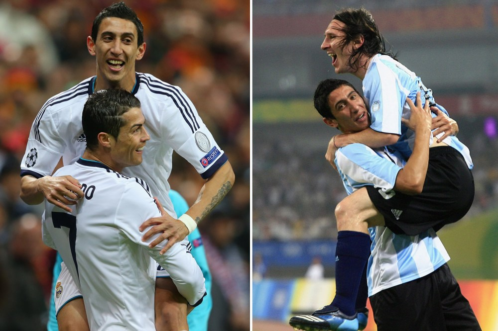 Di Maria considers it an honour to play alongside Messi