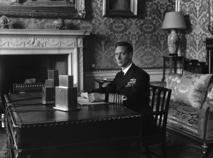 William's method of overcoming anxiety is similar to how the great-grandfather, King George VI, overcame his nervous stuttering during World War II.
