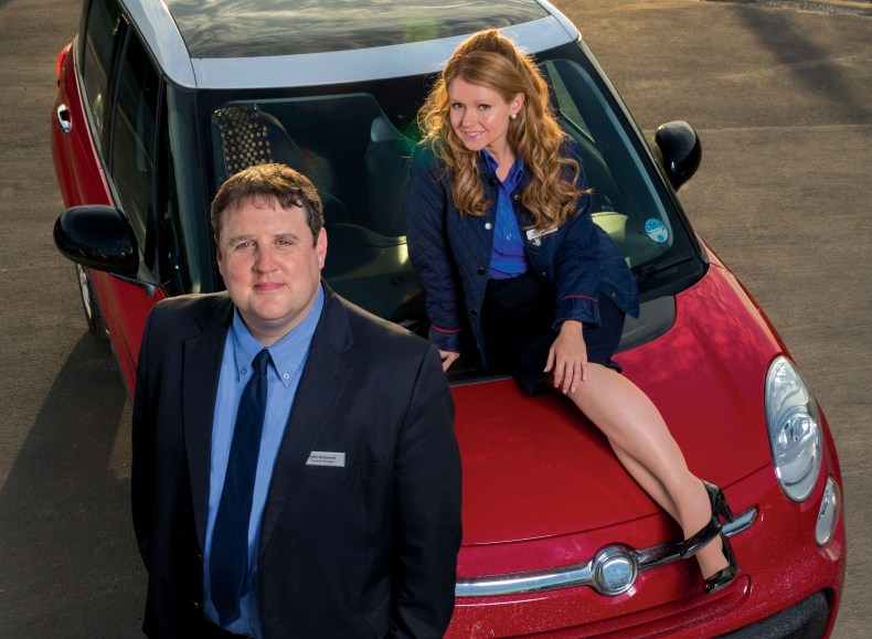 The sitcom follows John, a supermarket assistant manager, and Kayleigh, a promotions rep, as they car share on their way to and from work each day