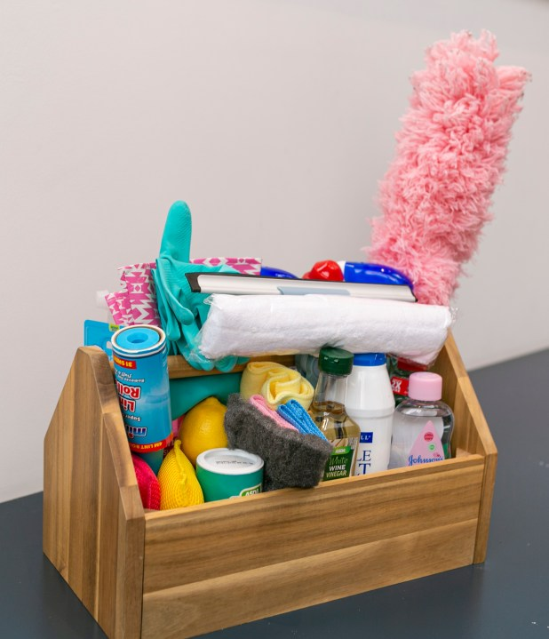 You probably have everything you need to clean in your cupboards