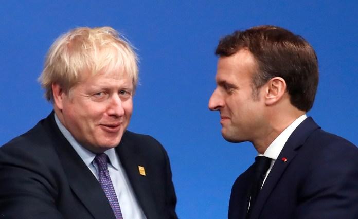 Boris Johnson and Emmanuel Macron work to establish travel lane despite coronavirus restrictions