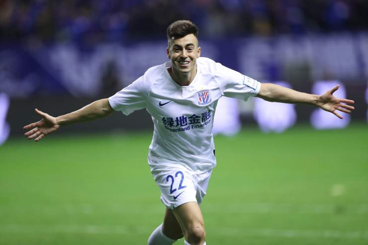 Stephan El Shaarawy is one of Shanghai Shenhua's current contingent of foreign players