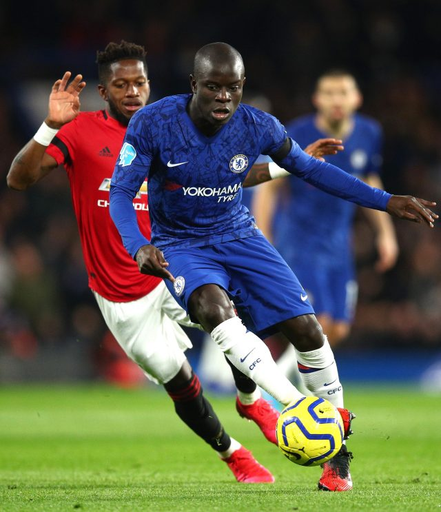 Fans are used to seeing N'Golo Kante with a bald head
