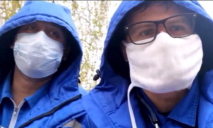 Dr. Alexander Shulepov and paramedic Alexander Kosyakinm warned of shortages