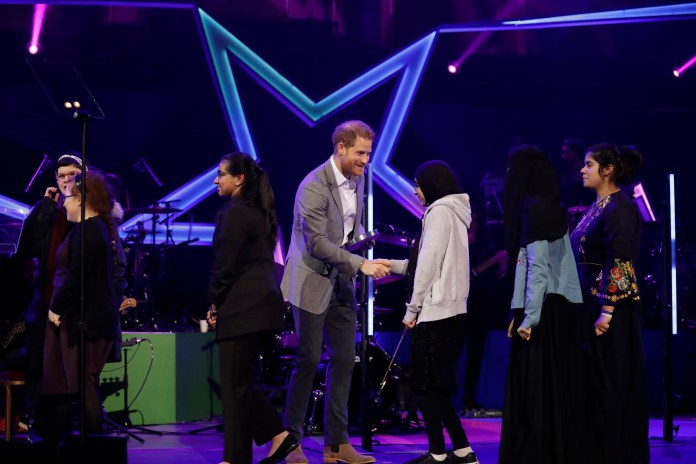 Last year, Prince Harry presented the Health and Wellness award at the first OnSide Awards at the Royal Albert Hall in London.