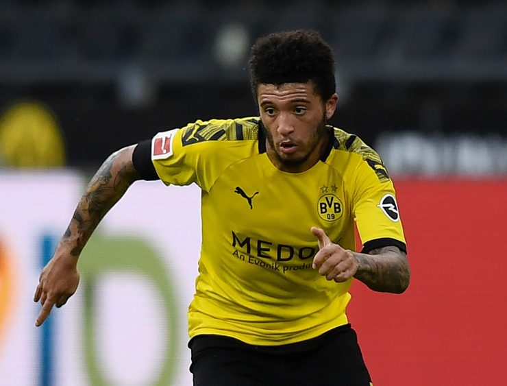 Jadon Sancho has also attracted interest from Chelsea