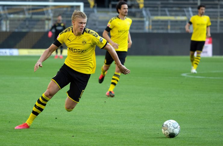 Manchester United wanted to sign Erling Haaland in January