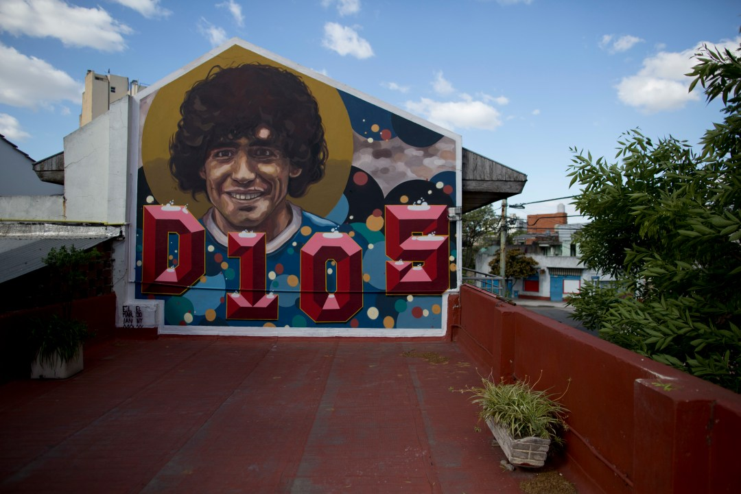 Diego Maradona's former home has been turned into a museum