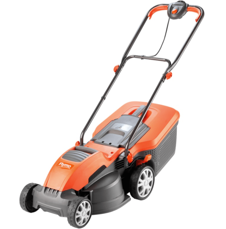 B&M is selling this pricer mower, but it comes with a bigger space for grass