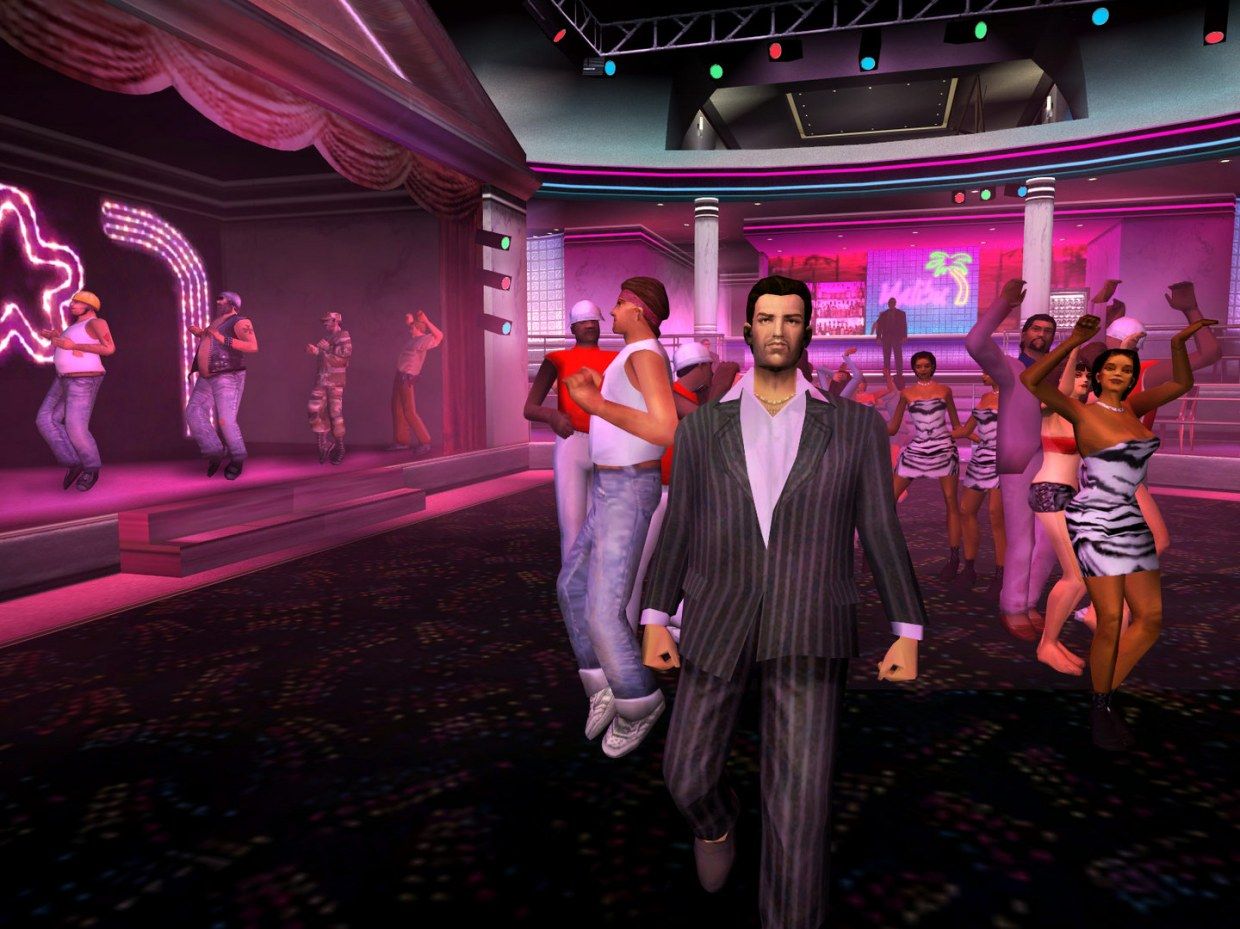 GTA Vice City came out over a decade ago