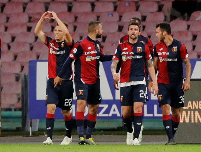 Genoa sit in 17th place with a win needed to keep them from being relegated
