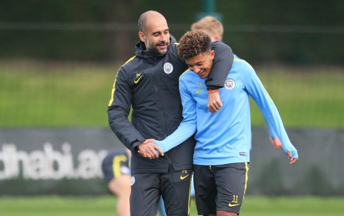 Jadon Sancho willing to make Man City return if Man Utd transfer ...