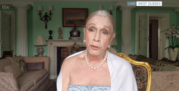 Lady Colin Campbell insists Phillip Schofield did shove her at a showbiz party